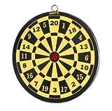 Dartscheibe Zielscheibe für Federbolzen, Durchmesser 20 cm, für Luftgewehr, Luftpistole und Dartpfeile