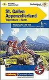 Wanderkarte Schweiz 07 St. Gallen - Appenzeller Land 1 : 60 000 (Kümmerly+Frey Wanderkarten)