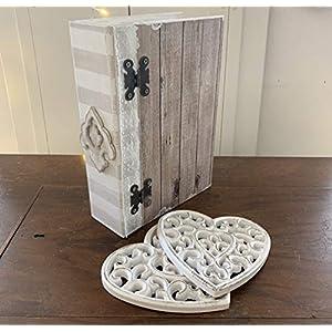 Schachtel Vintage mit Spitze - Einzelstück - von Hobbymoments