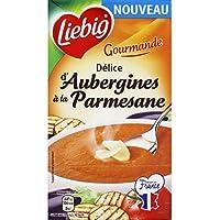 Liebig - Délice d'aubergines à la parmesane - Gourmande - La brique de 1 l - Prix Unitaire - Livraison Gratuit...