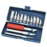 ETbotu 3D-Druck-Reinigungsset, 13 Teile, Stahl-Spannzangen-Set, 3D-Drucker-Zubehör