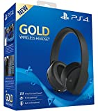 Sony Gold Wireless - Auriculares para juegos PS4, color negro