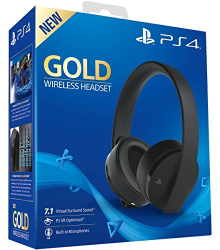 Price comparison product image PlayStation 4 Gold Wireless Headset