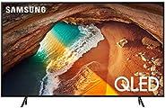 شاشة تلفزيون مسطحة ذكية 4 كيه، بتقنية كيو ليد، سلسلة 6 2019 - 65Q60RA قياس 65 بوصة من سامسونج