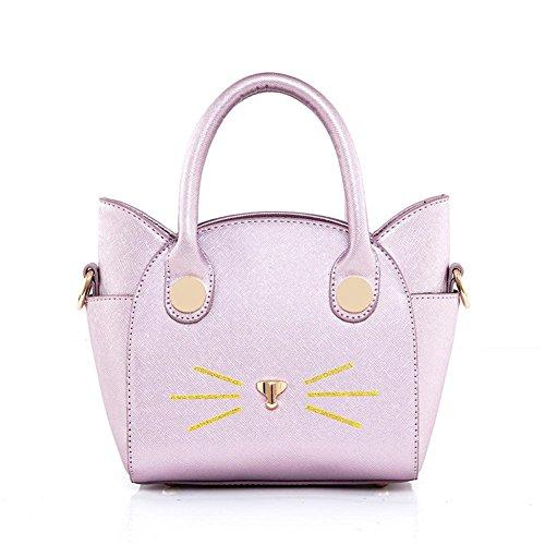 GBT Nette Handtasche Art und Weise beweglichen Schultertasche pink purple