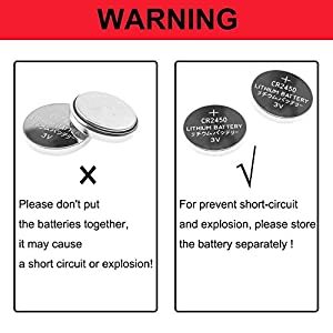 CR2450-Batterie-3V-Lithium-Knopfzelle-600-mAh-Uhren-Digital-Foto-Kamera-Kche-Kchen-Waage-CR2450-20-Stck