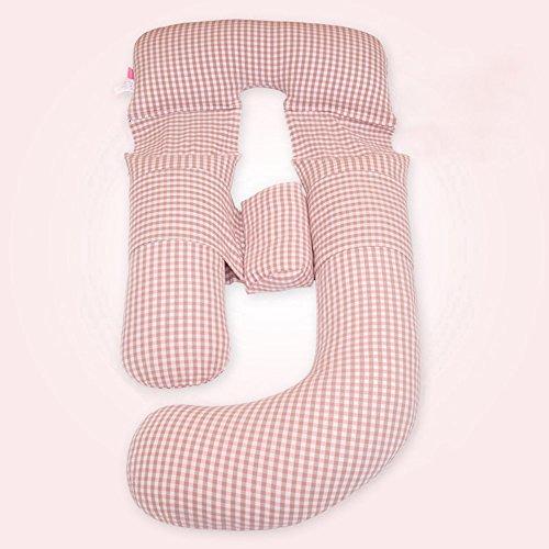 SPQRSXC Oreiller d'allaitement pour femmes enceintes et oreiller d'allaitement, coussin de soutien côté femelle endormi, lavable, (170 * 70 * 20cm) (Couleur : B)