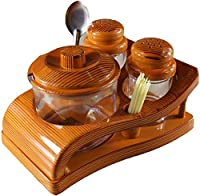 This OSCAR salt, pepper shaker holder have a artistic look. This set is designed in a special way to enhance your dining table. The body of the product is well designed. It's transparent gives a amazing look in the drawing room or dining table. Ideal...