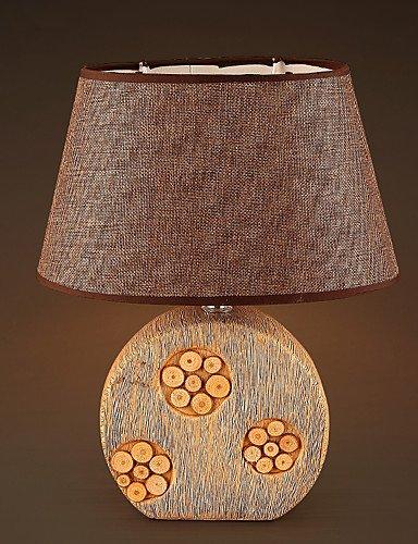 Tabelle Kandelaber (LPZSQ Dekoration Keramik Gewebe-Tabellen-Lampe für Schlafzimmer Wohnzimmer Cafe Bar Study Room)