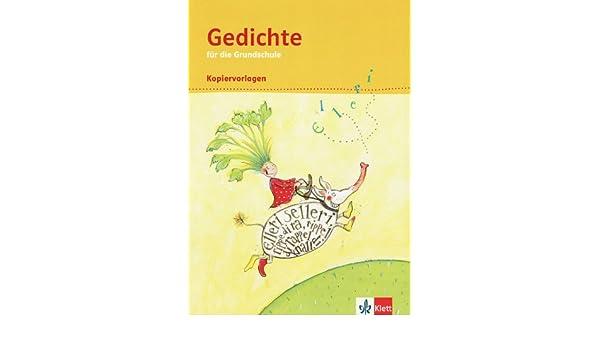 Gedichte Für Die Grundschule Kopiervorlagen Amazonde Bücher