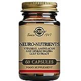 Una combinación única de aminoácidos, Ginkgo biloba y vitaminas B que contribuyen a la función normal del sistema nervioso y la reducción del cansancio y la fatiga. Se recomienda tomar de 1 a 2 cápsulas al día, preferiblemente a la hora de la comi...