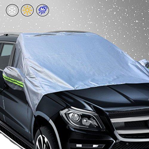 600D PVC Copertura Parabrezza Auto Magnetic Protezione Parabrezza Antighiaccio Protegge dal Gelo e Neve Ghiaccio Kohree Protezione per Parabrezza 210 x 120cm UV