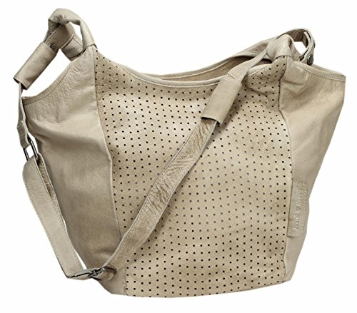 Greenburry Stainwashed Sac bandoulière cuir 39 cm sand