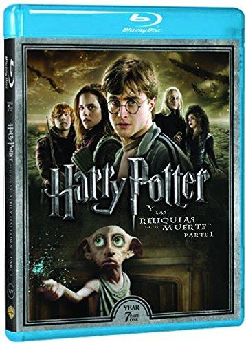 Harry Potter Y Las Reliquias De La Muerte Parte 1 - Nueva Carátula [Blu-ray]