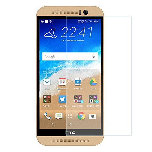 Royal Touch ® HTC One M9 Premium 9H Tempered glass screen protector with free Installation Kit  available at amazon for Rs.129