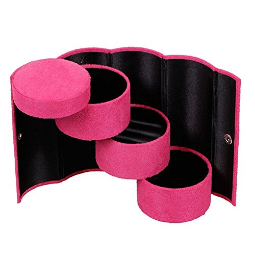 Aussel-porttil-3-Tier-Compartimiento-Mini-Velvet-Viaje-Roll-Up-diseo-Retro-joyas-caja-de-almacenamiento-con-cierre
