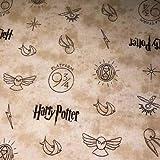 Harry Potter Stoff, 100% Baumwolle VISF55 HARRY POTTER -