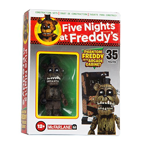 Image of McFarlane Toys Five Nights At Freddy's Micro Arcade Cabinet Construction Set