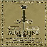 Augustine - Jeux de cordes nylon pour guitares classiques Jeu de corde classique IMPERIAL ROUGE TIRANT NORMAL