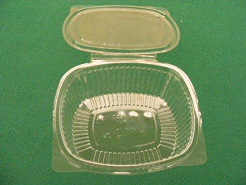 50Tabletts GR.750Schalen Behälter transparent aus PET FOOD Gastronomie Molkerei Obst Ofen (Pet-schale Transparente)