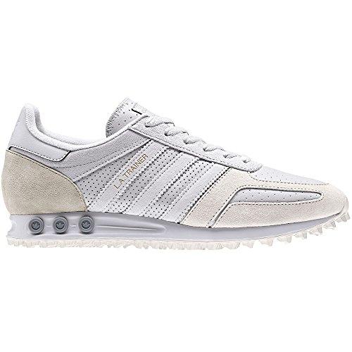 adidas Herren LA Trainer Gymnastikschuhe, Grau (Grey One F17/Grey One F17/Talc S16), 42 EU (Originals Trainer Adidas)
