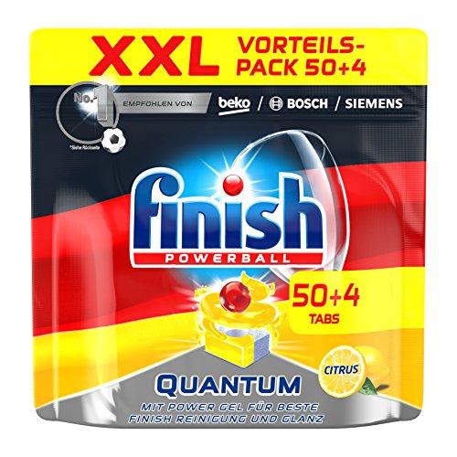 Finish Quantum Citrus, WM-Edition, Spülmaschinentabs, XXL, 50 + 4 Tabs