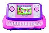 VTech MobiGo - Consola de juegos educativos con juego Dora la Exploradora, color rosa (80-115857)