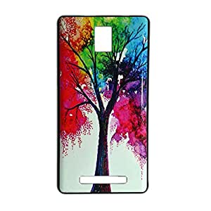 ksc sales New Rubber Finish Printed Silicone Soft Back Case Cover For Xolo Era