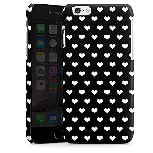 Apple iPhone 5s Housse Étui Protection Coque Polka c½urs Motif Motif Cas Premium brillant