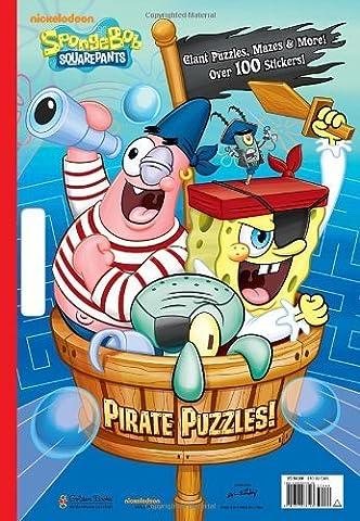Pirate Puzzles! (SpongeBob SquarePants) (Giant Coloring Book) by Frank Berrios (2012-08-07)