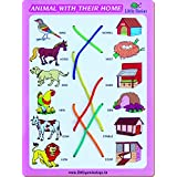 Little Genius Match The Column Animal With Their Home