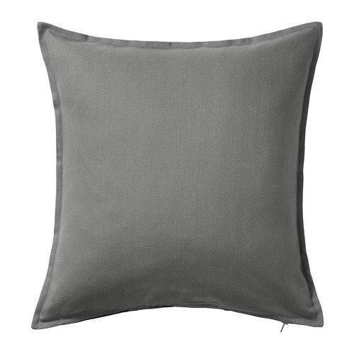 IKEA Gurli - Kissenbezug, grau - 50x50 cm (Ikea Kissenbezüge)