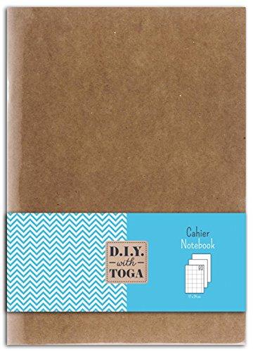 Toga SU48–Taccuino di Carta Kraft 17x 24x 1cm