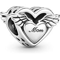 PANDORA Charm 799367C00 Angel Wings & Mum
