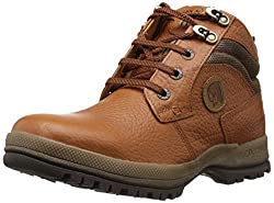 Redchief Mens Elephant Tan Leather Boots - 6 UK (RC2501 107)