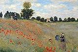 Claude Monet Poster Mohnfeld bei Argenteuil (91,5cm x 61cm)