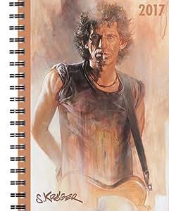 Terminplaner A6 Rolling Stones by Sebastian Krüger