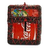 African Attitude Recycling-Spardose Township, rot (Coca Cola)