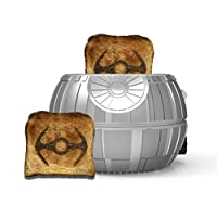 That?s no moon! It?s a space station. You really haven?t experienced toast until you have dropped it in one of the most recognized weapons of destruction in fiction. Grab your favorite bread, bagel or pastry and pop into this extra-large chas...