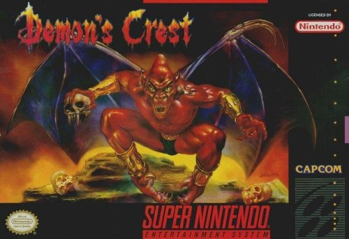 Demon's Crest SNES