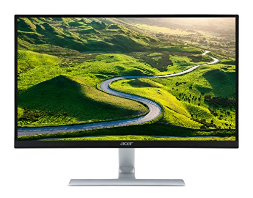 Acer UM.HR0EE.001 RT270 27-inch Full HD Monitor (IPS panel, 4ms, ZeroFrame, HDMI, DVI) - Black/Silver Best Price and Cheapest