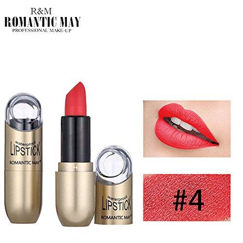 POachers Rouge à lèvres- imperméable de longue durée imperméable à l'eau durable cadeau cosmétique de maquillage de beauté