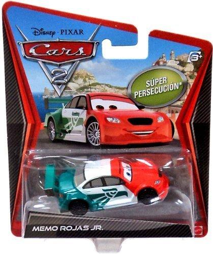 Disney Pixar Cars 2 *Ultimate Super Chase* Memo Rojas Jr. - Edition Limitée: 2000 - Voiture Miniature Echelle 1:55