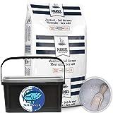 Premium Meersalz Grob Speisesalz Kochsalz Salzmühle Gewürz Eimer 1-3mm 4kg