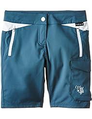 Maloja - Pantalón infantil, talla S, color azul