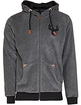 Marjo Herren Trachten Sweater Alpha anthrazit