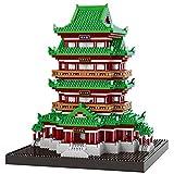 Yyz Famosa Serie architettonica Antica Cinese Tengwangge Blocchi di Costruzione ortografia Giocattolo Puzzle Piccole Particelle Incantesimo Regalo di Compleanno