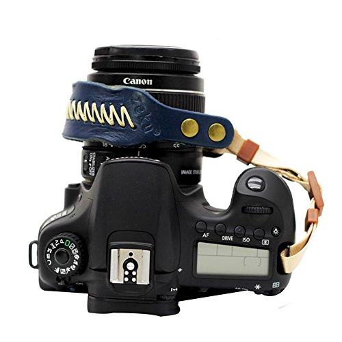 LIUONEXI Kamera Leder Handschlaufe Handgelenkschlaufe Outdoor Wrist Strap Camera Hand Strap Kamera Trageschlaufe Entlasten Müdigkeit Handriemen Komfortpolsterung Sicherheit für alle Kameras