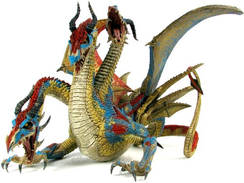 Action Figur Drachen: Hydra Dragon Clan Deluxe Boxed Set