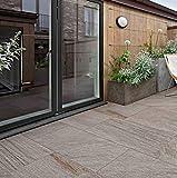 Ragno Realstone Quarzite Grigio Strukturiert Rektifiziert 60x60 cm R04P Fliesen für Haus Badezimmer Küche Ihnen Aussen im Angebot günstiger direkt aus Italien